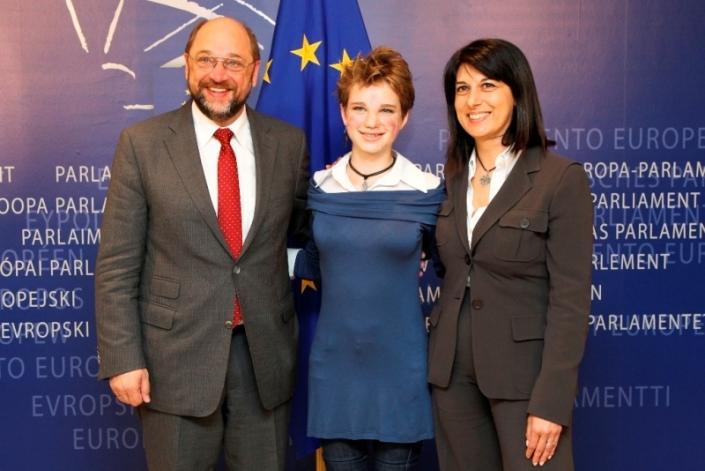 2012_Bebe al Parlamento Europeo