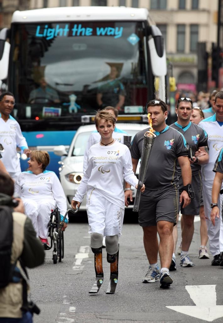 2012_Tedofora alle Paralimpiadi di Londra