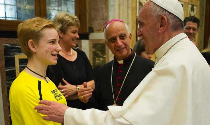 2016_Incontro con Papa Francesco