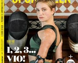 """Rubriche Bebe """"1,2,3… Vio!"""" su Sportweek"""