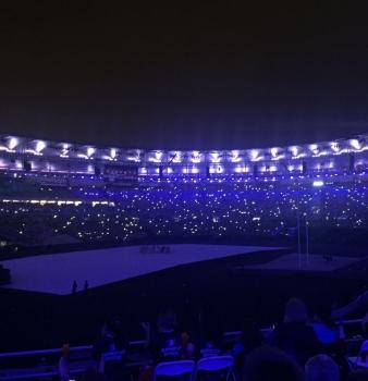 Un ingresso che non dimenticheremo mai! L'apertura delle Paralimpiadi.